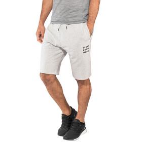 Peak Performance M's Ground Shorts Grey Melange